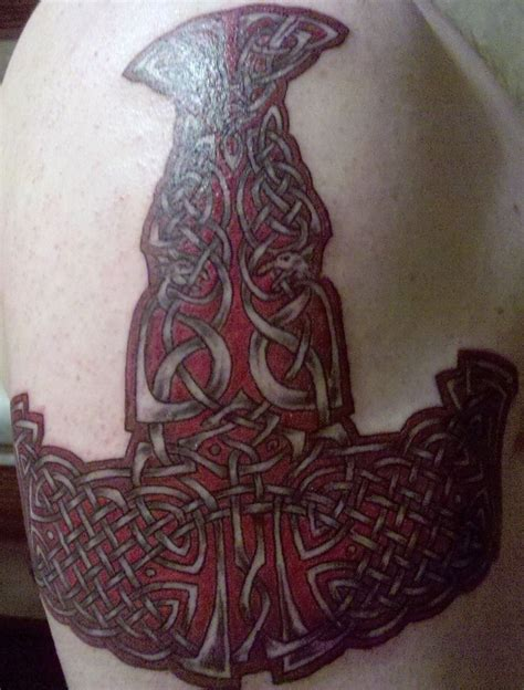 thor hammer tattoo 1000 ideas about hammer on tool