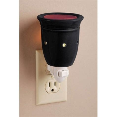 scented night light plug in ceramic electric plug in wax melter night light scented
