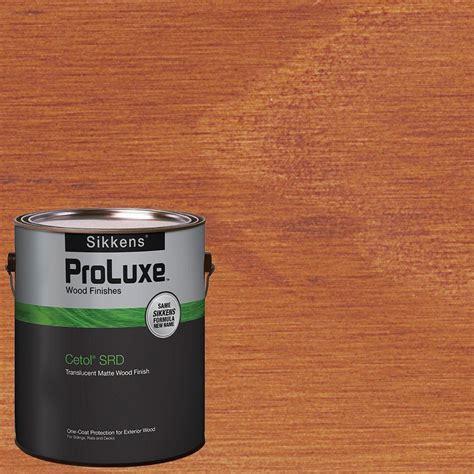 gal mahogany cetol srd exterior wood finish tintable uv