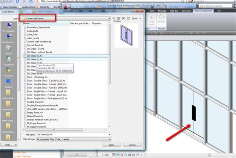 revit curtain wall door can t load curtain wall doors in revit curtain