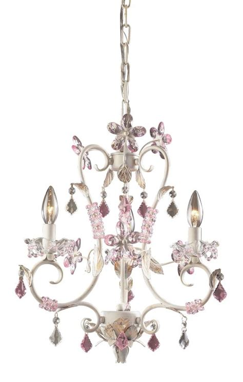 Elk Lighting Leaf Antique White Three Light Mini Chandelier Elk Lighting 9100 3 Antique White 3 Light Mini Chandelier From The Collection