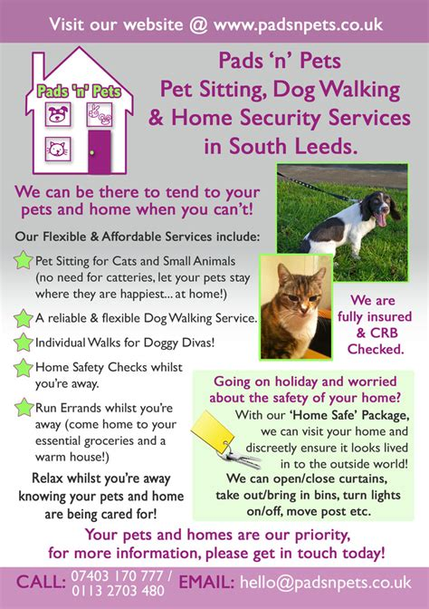 walking services pads n pets pet sitting walking services batley and birstall news