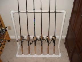 fishing pole storage fishing rod storage rack