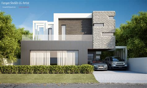 architectural design of 1 kanal house 1 kanal house front elevation on behance
