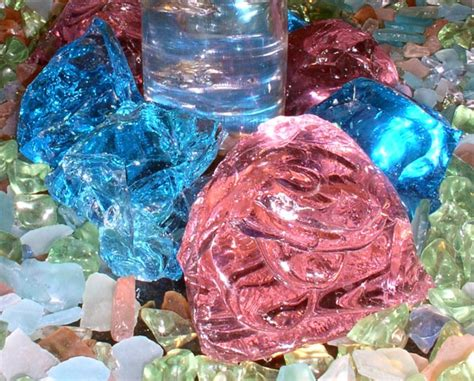 1000 images about garden glass rock on pinterest