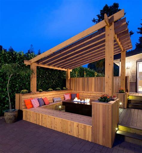 Flat Roof Pergola Plans   Schwep