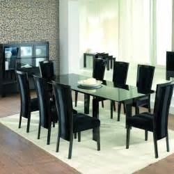 Glass Top Dining Room Table Sets Glass Top Dining Room Tables