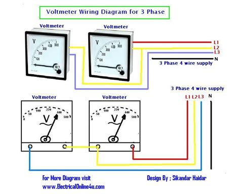 voltmeter wiring diagram for car wiring diagram