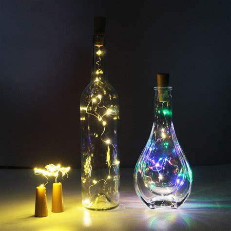 3 6pcs Battery Led Bottle Wine Cork String Lights Wine Bottle String Lights