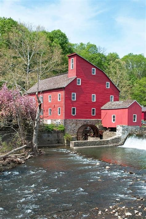 clinton nj my home town pinterest red mill in spring new jersey mills pinterest