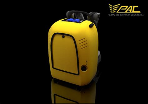 pac backpack generator on behance