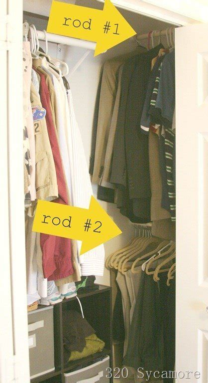 how to make more storage in a small bedroom clever closet storage hacks to improve your home harkraft