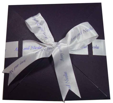 wedding ribbon printed ribbons for weddings hayfords wedding stationery