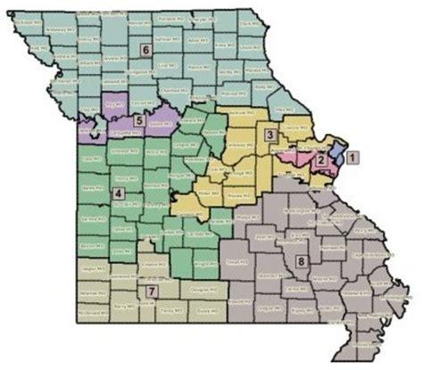 missouri district map missouri congressional district map swimnova