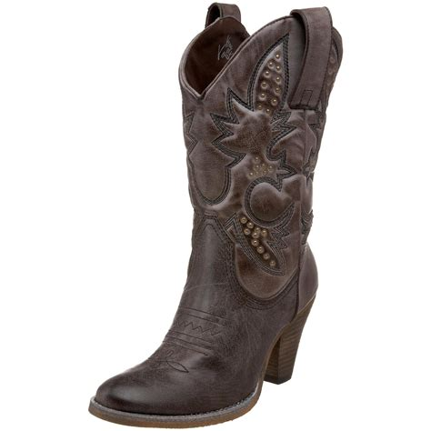 cheap womens black cowboy boots fashion trends volatile denver boots for