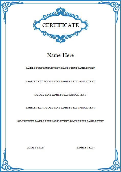 how to create a certificate template madrat co