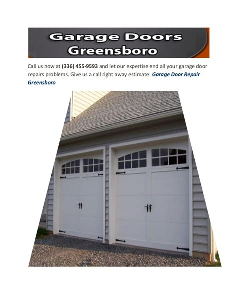 Overhead Door Greensboro Greensboro Garage Doors Professionals