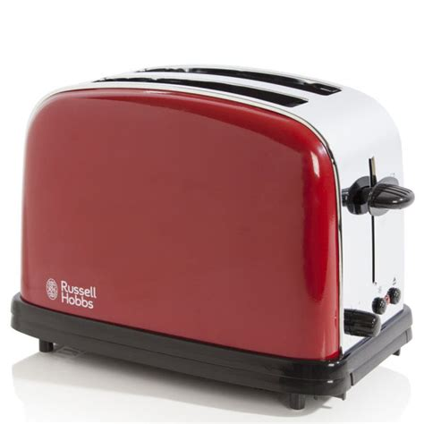 Russell Hobbs Toasters Russell Hobbs 2 Slice Toaster Flame Red Iwoot