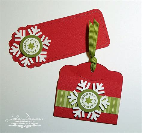 stin up christmas gift tags ideas