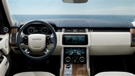 range rover interior 2017 2017 range rover autobiography interior 4k wallpaper hd