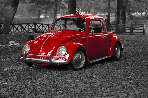 volkswagen red car free images vintage wheel retro vw old