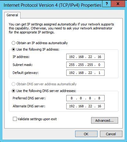 domain  system configuring preferredalternate dns