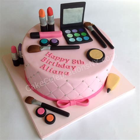 Make Birthday Cake by Makeup Birthday Cake Cake Celebrations