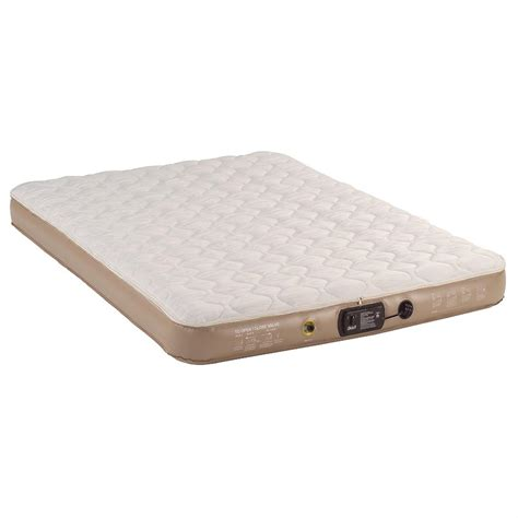 Air Mattress With Pillow Top by Coleman 174 Pillow Top Quickbed With Mattress Pad