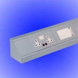 desk cable trunking marshall tufflex gt home gt cable management gt aluminium