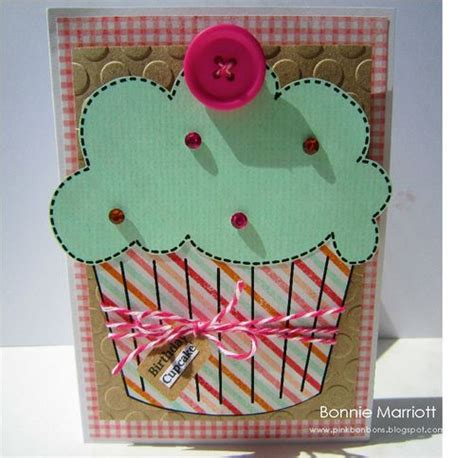 cupcake templates for cards monthly inspiration cupcakes the cutting cafe s