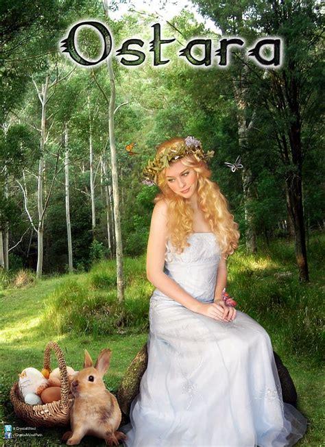 goddess easter ostara wind wheel of the year