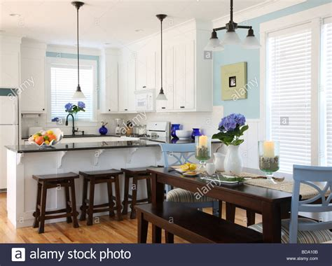 kitchen interior photo house kitchen interior stock photo royalty free