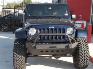 xrc bumper in a blue jeep wrangler unlimited rubicon