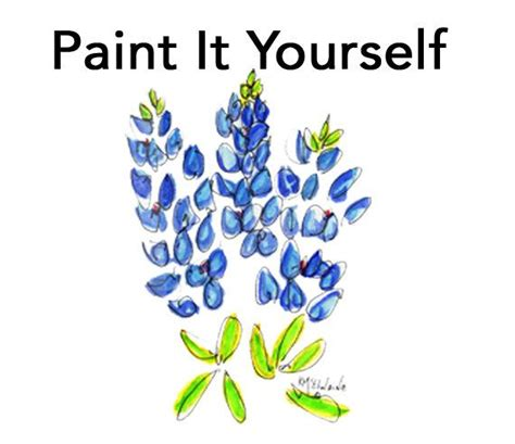Kaos Splashy Water Colour 11 Tx 17 best images about beautiful bluebonnets on watercolor print how to paint and how