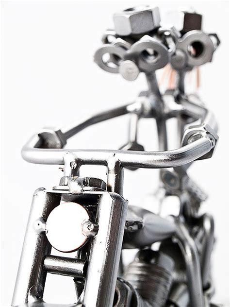 Motorrad Spr Che Dog Tag by Schraubenm 228 Nnchen Paar Auf Motorrad Online