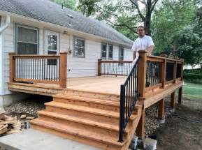 Small Home Designs With Deck A Small Back Deck Home Design