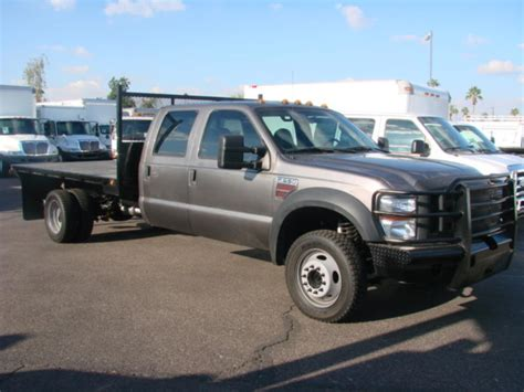 flat bed for sale used 2009 ford f550 flatbed truck for sale in az 1335