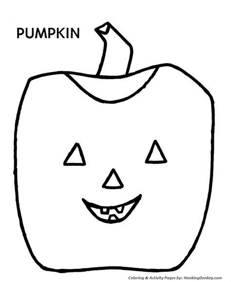 easy pumpkin coloring pages easy color az colorare