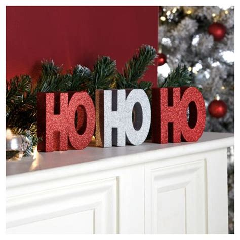 buy tesco ho ho ho christmas decoration from our all