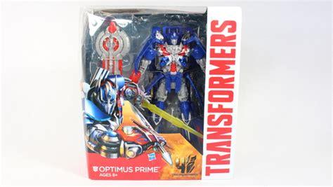 Exlusive Mainan Figure Transformers Aoe Optimus Prime Leader transformers 4 age of extinction optimus prime leader class retail version figure review