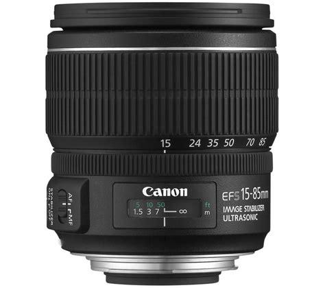 Ef S 15 85mm F 3 5 5 6 Is Usm canon ef s 15 85 mm f 3 5 5 6 is usm standard zoom lens