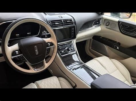 new lincoln continental 2018 interior and exterior youtube