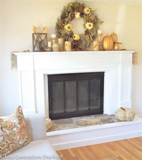 Update Fireplace Surround how to update a fireplace surround brass four