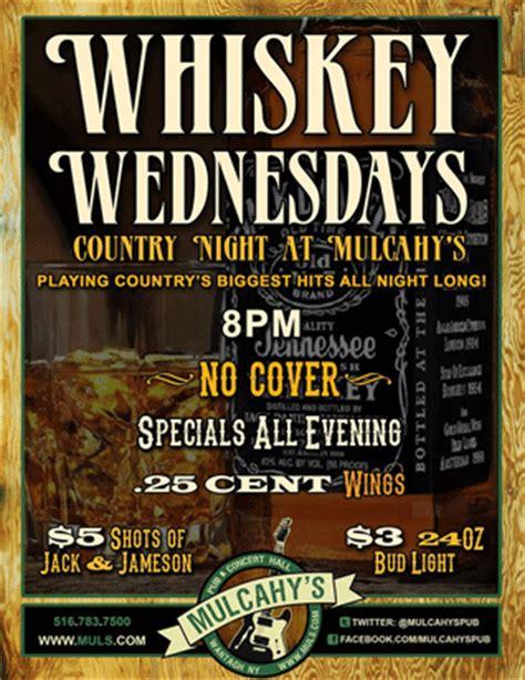 wednesday bar specials around nassau county