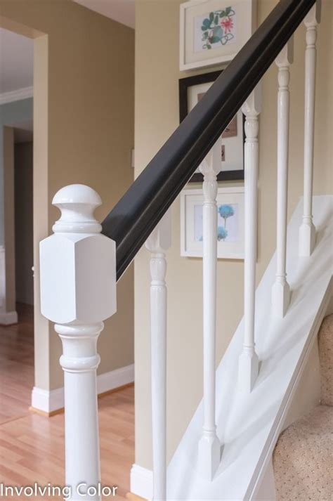 Painting A Banister White by 1000 Images About Diy Home Stairs On Runners Stair Risers And Stairway To Heaven