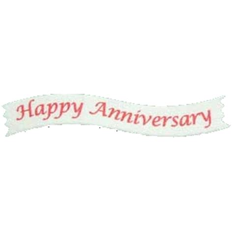 Banner Happy Anniversary happy anniversary banner only 6p for cardmaking and
