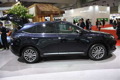 Toyota Harrier 2013 Toyota Harrier Side At 2013 Tokyo Motor Show Indian