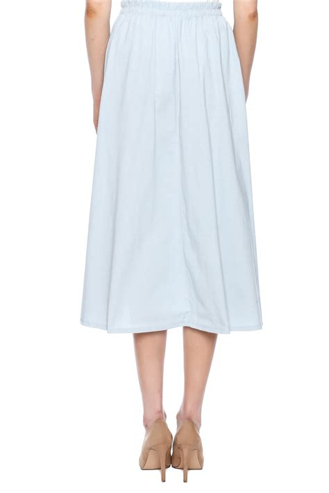 cotton a line maxi skirt adolfo cotton a line maxi skirt from new jersey by covered