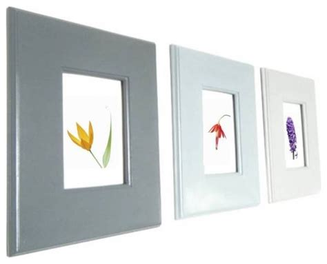 modern picture frames wall ombre style wall hanging frames for photos and