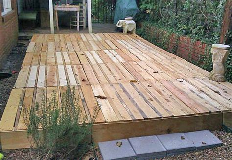 diy deck building how to build a fabulous diy floating deck the garden glove